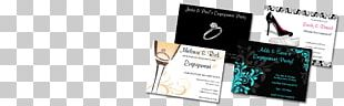 Wedding Invitation Engagement Party RSVP PNG