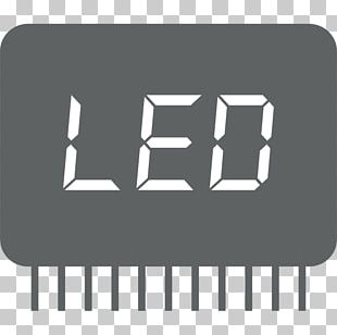 LED Display Alarm Clocks Light-emitting Diode Digital Clock Display Device PNG