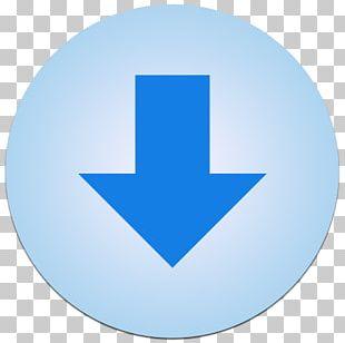 Blue Circle Symbol Font PNG