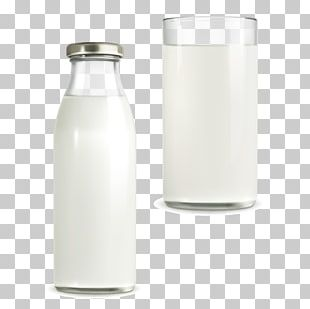 Coconut Milk Milk Bottle PNG