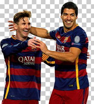 Luis Suárez Lionel Messi FC Barcelona Sport Football Player PNG