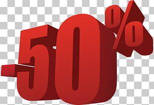 50% Off Sale Transparent PNG