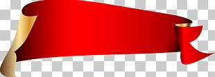 Red Ribbon Web Banner PNG