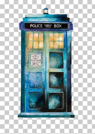 Doctor TARDIS Rose Tyler Watercolor Painting Drawing PNG
