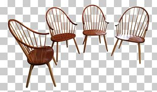 Furniture Chair Wood Wicker PNG