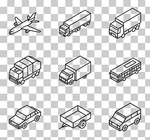 Car Computer Icons Isometric Projection Truck PNG