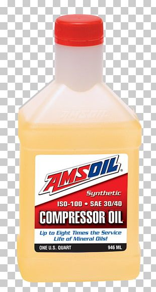 Motor Oil Synthetic Oil Compressor Amsoil Lubricant PNG