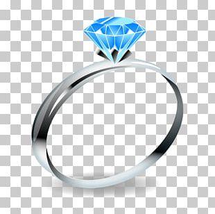Wedding Ring Emoji Jewellery Gemstone PNG