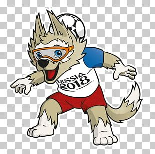 2018 World Cup FIFA World Cup Official Mascots Zabivaka Russia PNG