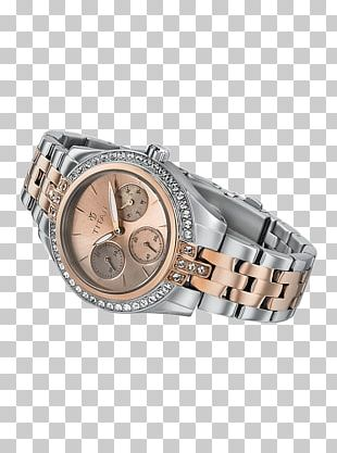Strap Watch Bling-bling Silver PNG