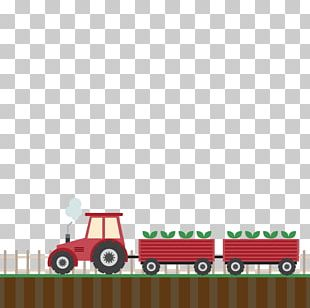 Agriculture Farmer Tractor PNG