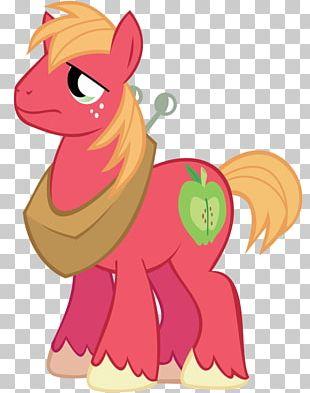 Big McIntosh Applejack Pony McDonald's Big Mac Apple Bloom PNG