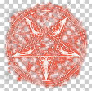The Magic Circle Red PNG