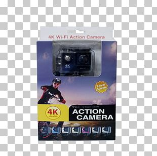 Action Camera 4K Resolution Video Cameras High-definition Television PNG