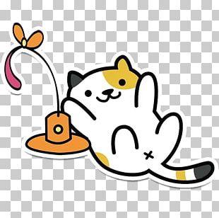 Cat Neko Atsume Sticker Telegram PNG