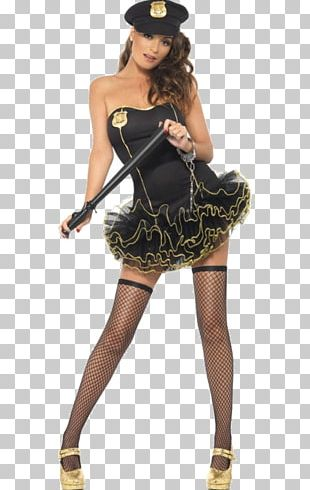Costume Party Police Officer Dress Tutu PNG