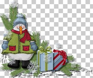 Snowman Christmas Decoration New Year PNG