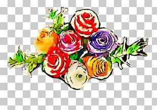 Flower Floral Design Watercolor Painting Art PNG