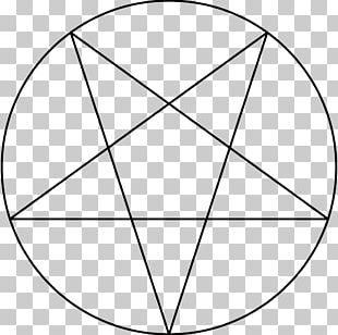Pentagram Pentacle Satanism Church Of Satan Baphomet PNG
