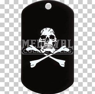 Dog Tag Skull And Crossbones Military Uniform PNG