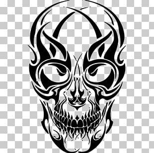 Sleeve Tattoo Skull Drawing PNG
