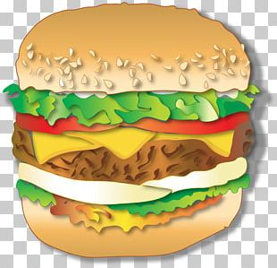 Cheeseburger Whopper McDonald's Big Mac Fast Food Breakfast Sandwich PNG