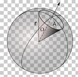 Solid Angle Steradian Sphere Solid Geometry PNG