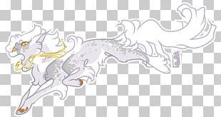 Horse Line Art Cartoon Sketch PNG