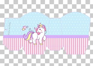 Unicorn Party Printing Legendary Creature Paper PNG