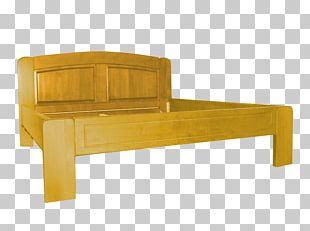 Bed Frame Beech Furniture Wood PNG