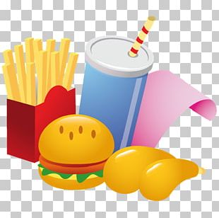 Fast Food Restaurant Hamburger French Fries Junk Food PNG