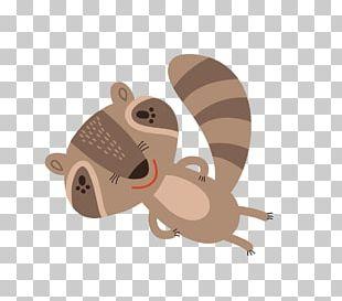 Cartoon Animal Flat Design PNG