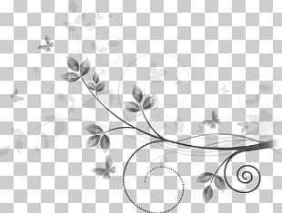 Drawing Line Art Floral Ornament PNG