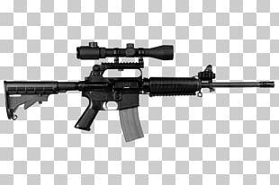 AR-15 Style Rifle Firearm Assault Rifle M4 Carbine PNG