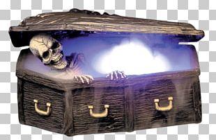 Zombie Coffin Halloween PNG