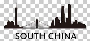 Skyline Silhouette Logo MIra Design Black PNG
