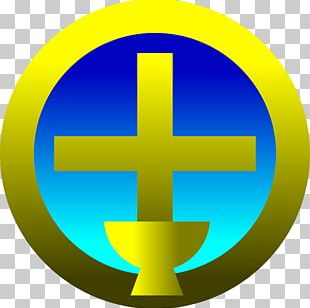 Eucharist Chalice Symbol Christian Cross PNG