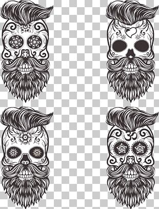 Calavera Skull Euclidean Drawing Day Of The Dead PNG