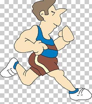 Running Sport Illustration PNG