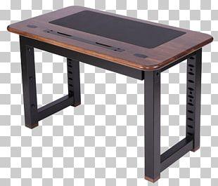 Bedside Tables Computer Desk Secretary Desk PNG