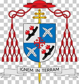 Cardinal Escutcheon Coat Of Arms Ecclesiastical Heraldry Archbishop PNG