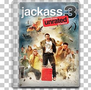 Jackass Film Streaming Media Television Show Comedy PNG