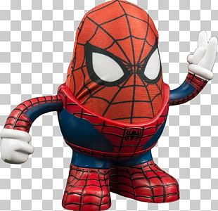 Mr. Potato Head Spider-Man Marvel Comics Wolverine Toy PNG