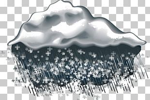 Weather Rain And Snow Mixed Icon PNG