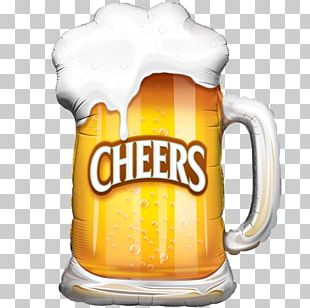 Beer Glasses Balloon Oktoberfest Drink PNG
