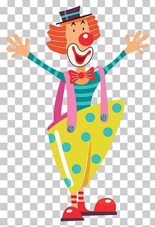 Clown Circus Illustration Graphics PNG
