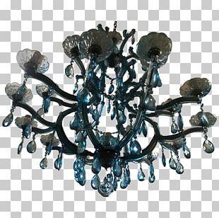 Chandelier Light Table Venetian Glass PNG