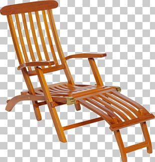 Garden Furniture Deckchair Sunlounger PNG