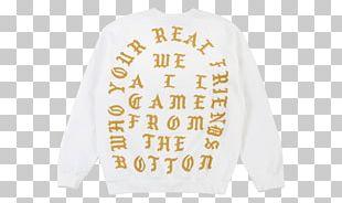 Saint Pablo Tour Long-sleeved T-shirt The Life Of Pablo PNG