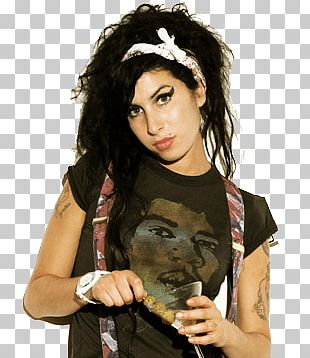 Amy Winehouse Thinking PNG